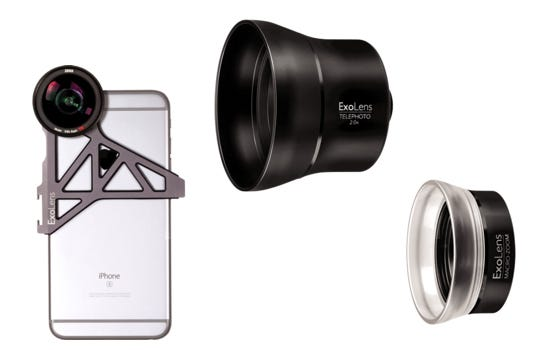 Exolens iPhone photography accessories