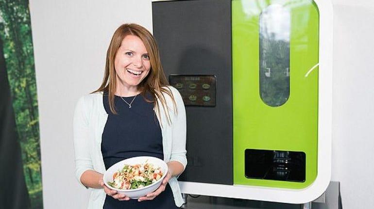 Sally the salad making robot