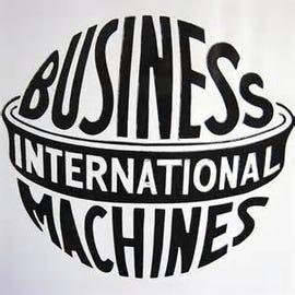 IBM's Old Logo