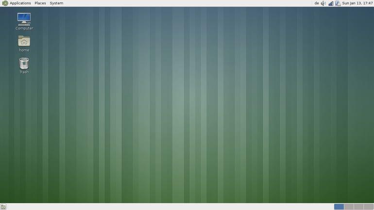Fedora 18 - MATE Desktop