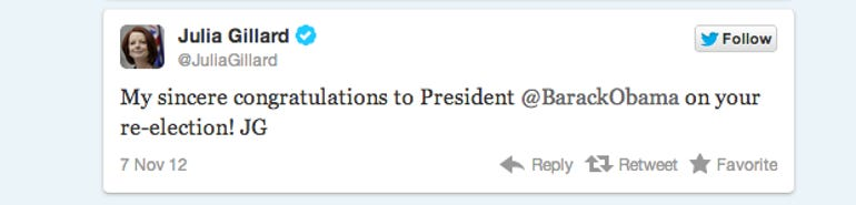 Twitter Blog: Election Night 20122