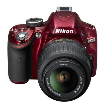 (Nikon D3200 image courtesy of Nikon.)