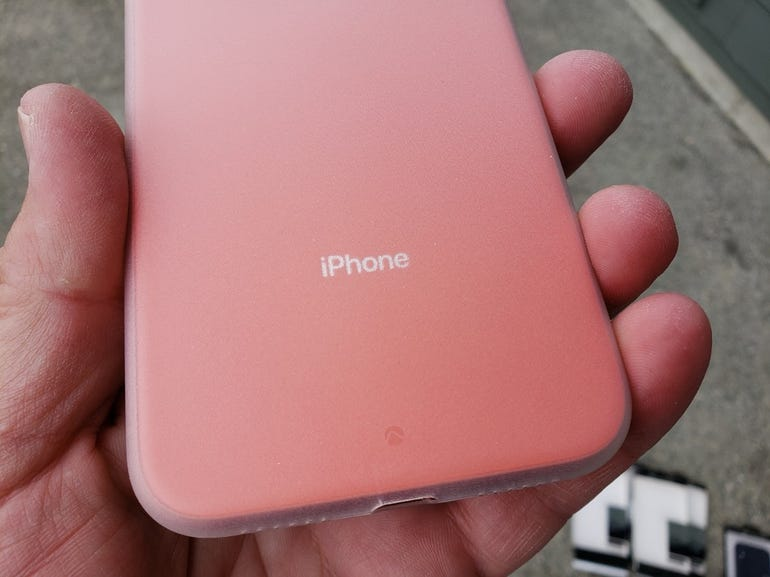 Frost still shows off your iPhone XR color and logos