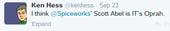 Spiceworld 2014 Keynote Live Tweet