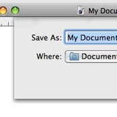 Things that suck somewhat: Mac OS X Sheets