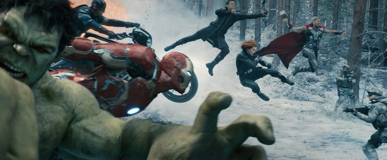 19. The Avengers: Age of Ultron (2015)