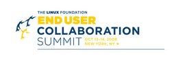 Linux Foundation End User Summit logo