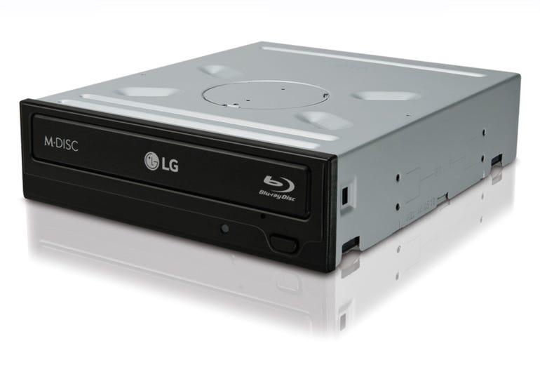 Optical drive: LG Electronics 14x SATA Blu-ray