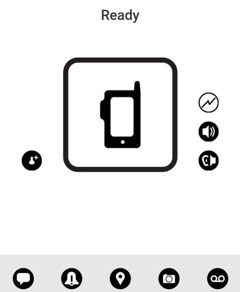 Verizon Push-to-Talk feature
