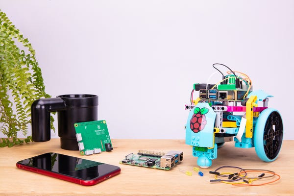Now you can plug Lego into your Raspberry Pi to add motors and sensors to your projects
