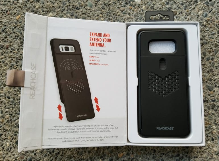Samsung Galaxy S8 ReachCase retail package