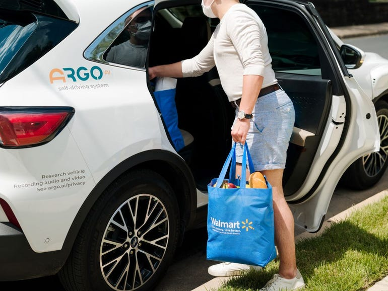 Ford and Walmart will deliver your groceries from these self-driving cars