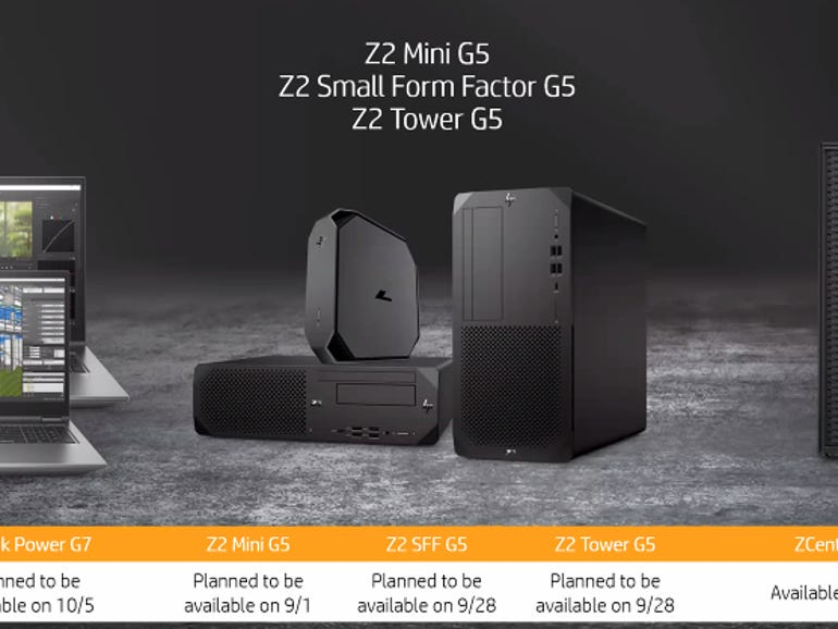 HP launches new Z workstations and ZCentral virtual desktop system   ZDNet
