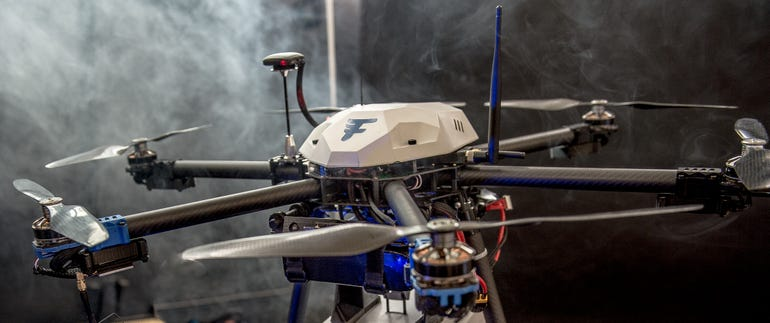 Flirtey's drones are designed to deliver life-saving aid