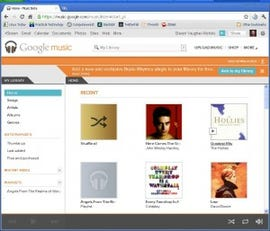 Google Music lets you put all your music a cloud-touch away.