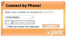 Jaxtr widget