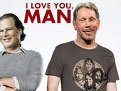 Larry Ellison and Marc Benioff: A cloud bromance for the ages
