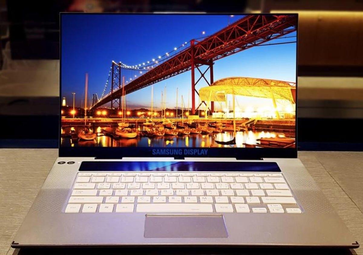 Samsung unveils world's first 15.6-inch 4K OLED display | ZDNet