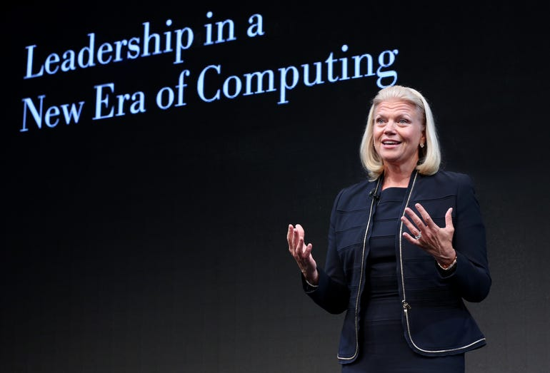 IBM chief executive Virginia Rometty