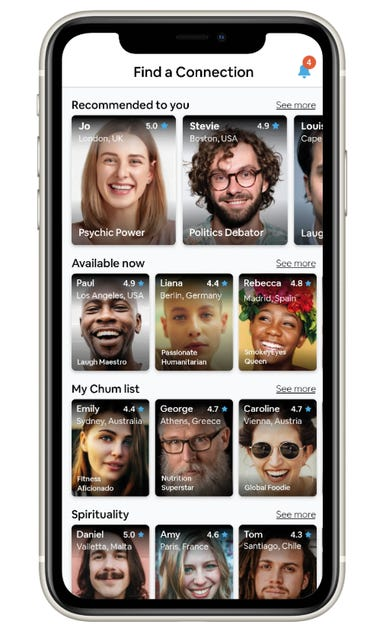 Seechum App-The Netflix of social connections launches zdnet