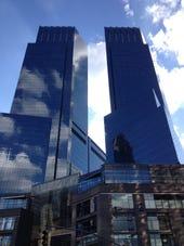 Buildings-Time Warner Columbus Circle NY-photo by Joe McKendrick