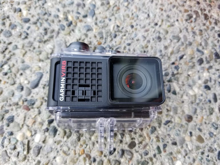 Front of the Ultra 30 in the waterproof case