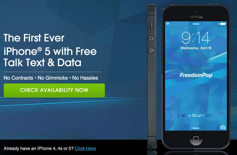 FreedomPop announces free voice and data plans for iPhone - Jason O'Grady