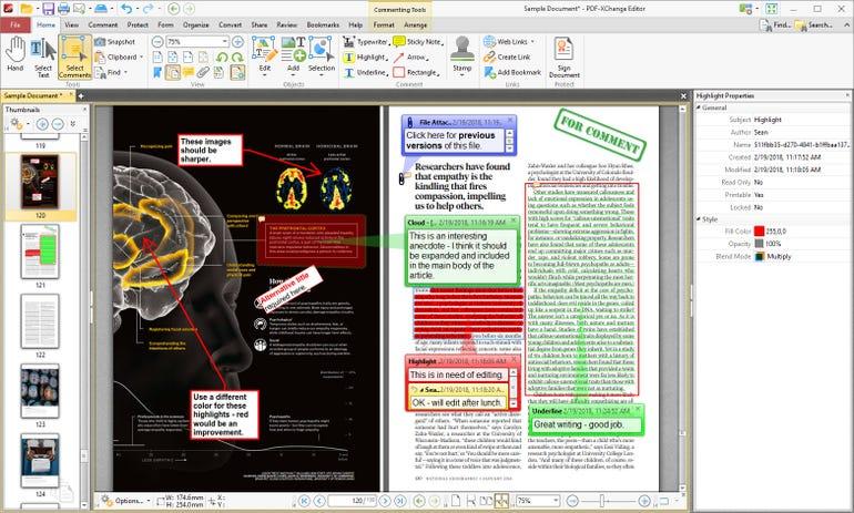 Acrobat DC: Replace with PDF-XChange