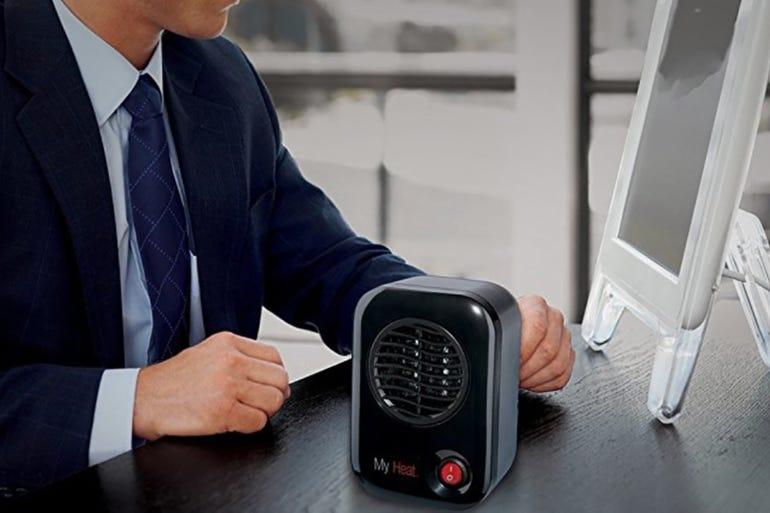Lasko 100 MyHeat Personal Ceramic Heater ($20)