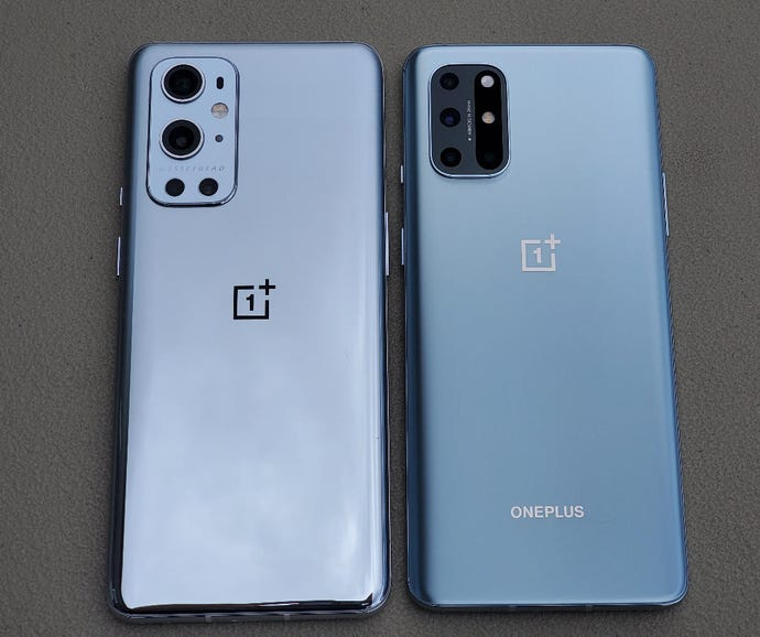 OnePlus 9 Pro and OnePlus 8T