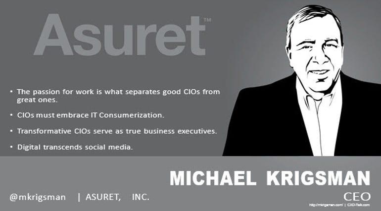 Michael Krigsman, Industry Analyst, Asuret