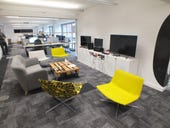 Chillout areas are scattered with games consoles and bowls of sweets