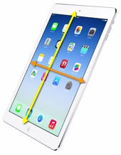 iPad Bezel Swiping
