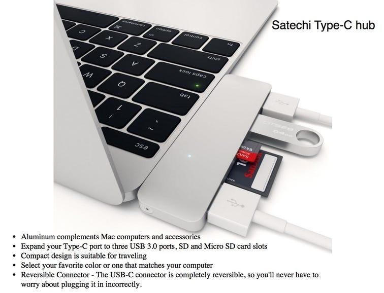 Satechi Type-C hub