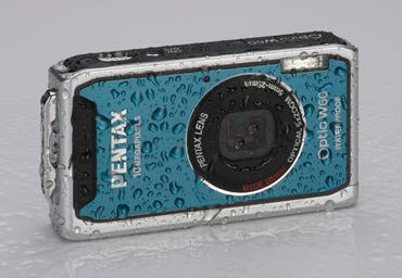 How does the new Pentax Optio W60 stack up against Olympus waterproof digital cameras?