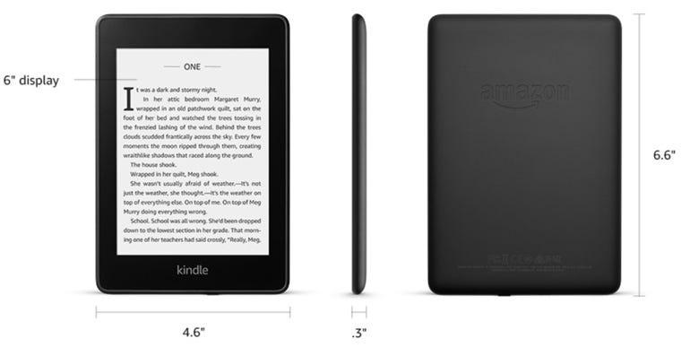 Amazon's all-new, waterproof Kindle Paperwhite