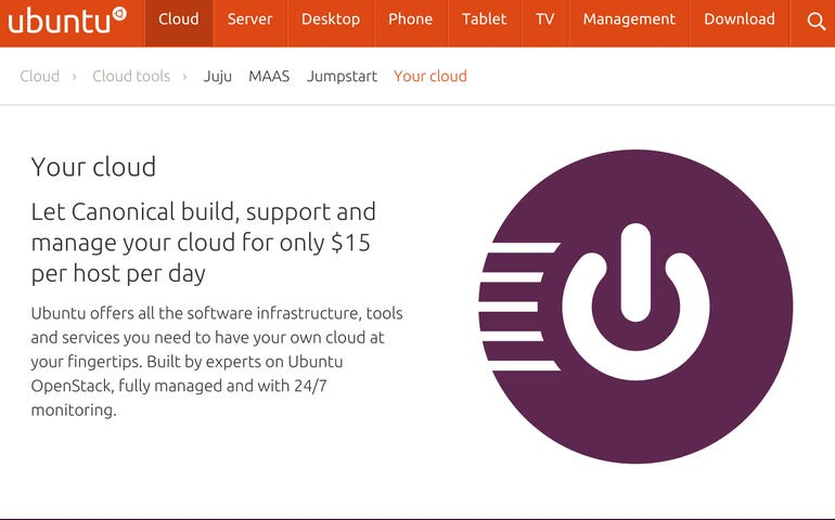 Canonical Your Cloud