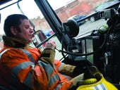 Photos: Fighting fire with tablet technology