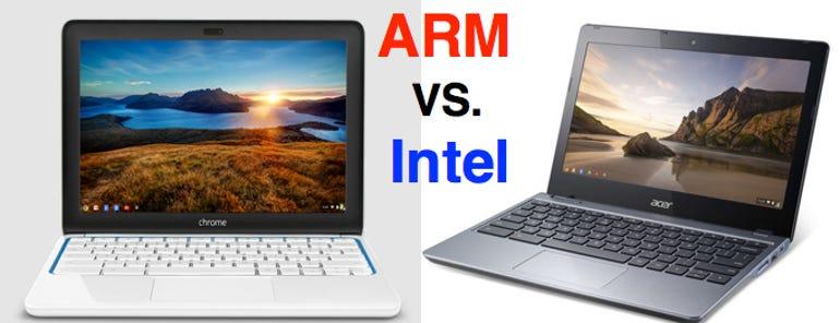 Chromebook Intel ARM