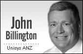 John Billington, Unisys