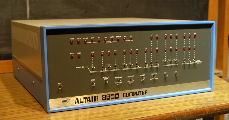 1975: The Altair 8800
