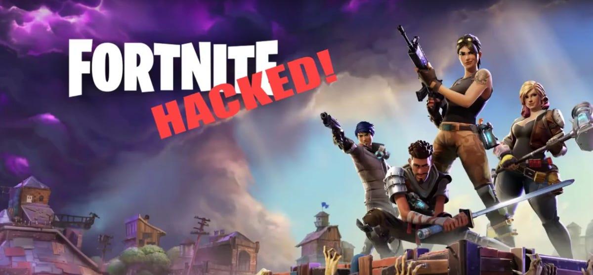 Fortnite hacked