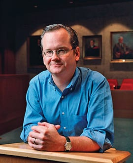 Larry Lessig, from Stanford