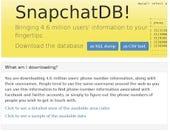 snapchat database hacked