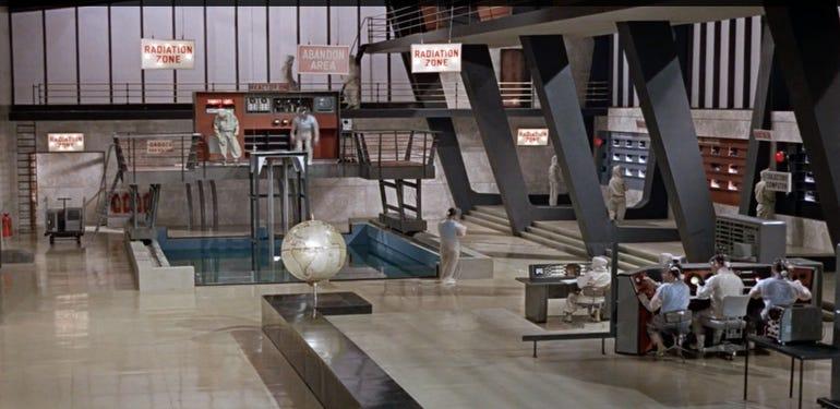 Nuclear Control Room, Dr. No (1962)