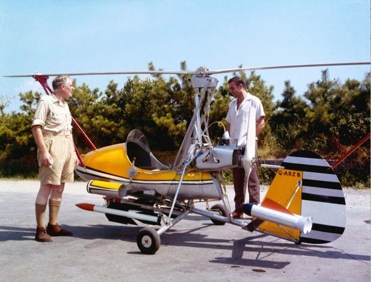 """""""Little Nellie"""" Gyrocopter, You Only Live Twice (1967)"""