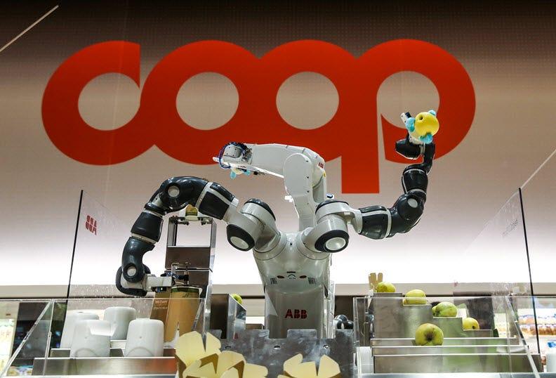 Digital transformation: Supermarket of the future