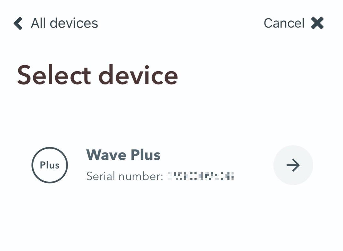 Airthings Wave Plus
