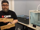 ZDNet DIY-IT project: Using reclaimed wood to laser-cut office signs