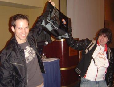 Alexander Sotirov (SolarEclipse) and Shane Macaulay (k2)